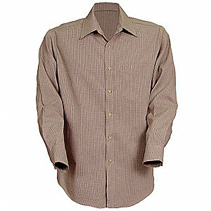 Unisex Shirt, XL, Sleeve 35, Tan Black