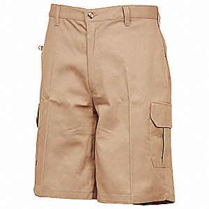 New Khaki Cargo Men's Shorts, 40