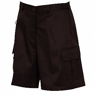 Women's Cargo Shorts, 28, Black