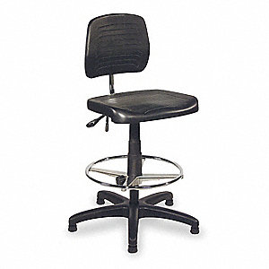 Chair,Adjustable,Polyurethane,19 - 27 In