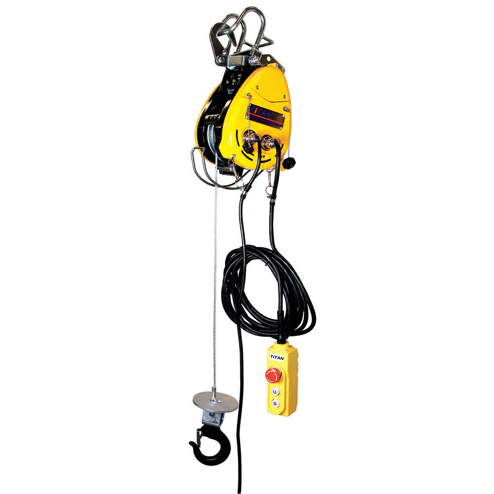 OZ LIFTING PRODUCTS Electric Wire Rope Hoist,500 lb. - 5NPL3 OBH ...