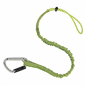 Tool Lanyard,28 to 35 In. L,Lime
