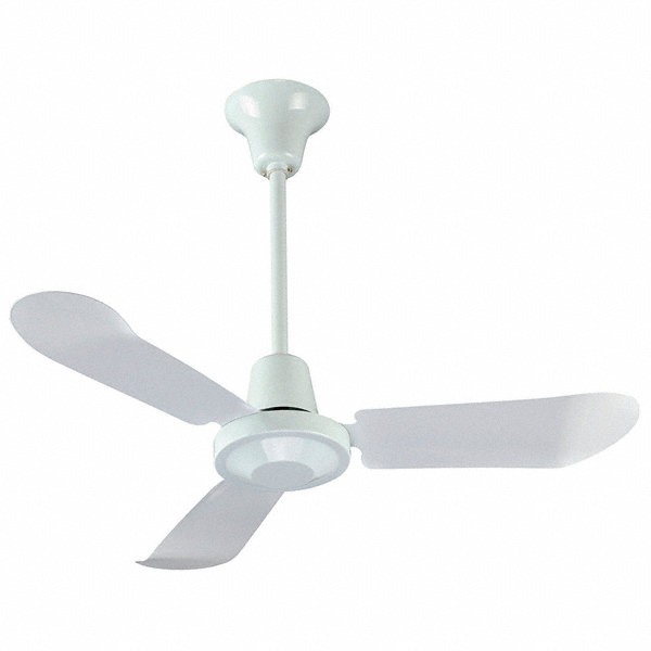 Dayton 3 Blade Ceiling Fan 120v 8 To 20 Ft Mounting
