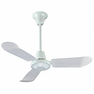 Dayton 3 blade ceiling fan 120v 8 to 20 ft mounting height 1 3 blade ceiling fan 120v 8 to 20 ft mounting height aloadofball Image collections