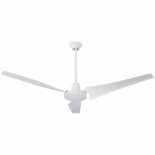 DAYTON 3-Blade Ceiling Fan, 120V, 8 To 20 Ft. Mounting