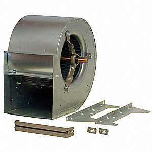 Blower,11-1/8 In,BD,Less Mtr,Whl 7-5/8 W