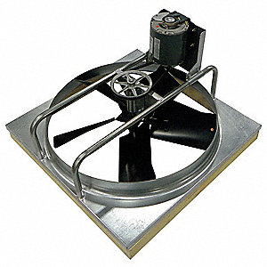 Whole House Fan,B/D,24 In,115 Volt