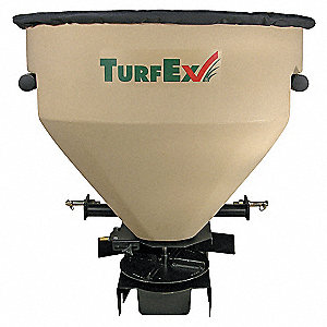 Seed/Fertilizer Spreader, 418 lbs. Capacity, Up to 30 ft. Spread Width, 3-Point Hitch Mount Type