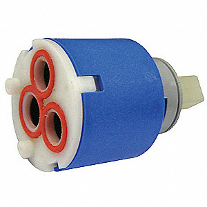 "Ceramic Cartridge, 2-1/4"" x 1-1/2"" for Faucet"