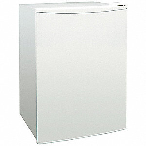 Refrigerator/Freezer, White,2.4 Cu-Ft