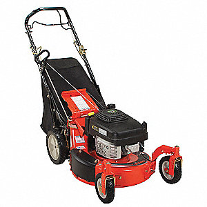 Lawn Mower,21 In.Wide,6HP,Variable Speed
