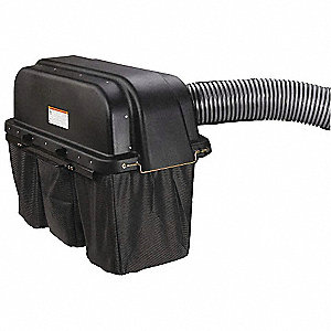 3-Bucket Bagger, For Use With Max Zoom® Commerical Mowers 21A595, 21A596, 21A597, 1 EA