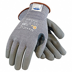 Cut Resistant Gloves,Gray,XL,PR
