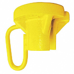 "Low Profile Tea Cup Pipe Carrier, 13,200 lb., 3-7/16"", Pipe Lifting Hole Diameter 2-1/4"""