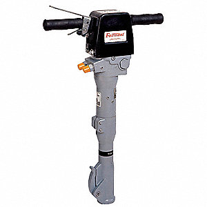"Open Center Hydraulic Paving Breaker; Includes Whip Hoses, and 1/2"" BSP to 1/2"" NPTF Adaptors"