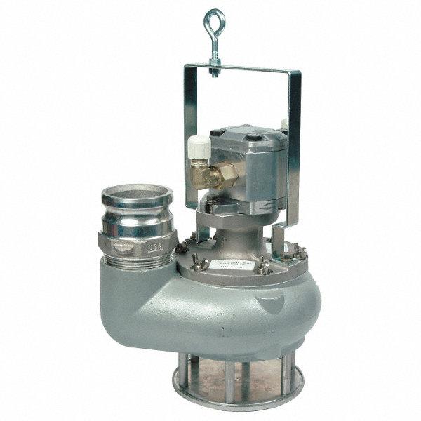 Greenlee hydraulic powered submersible trash pump for Submersible hydraulic pump motor