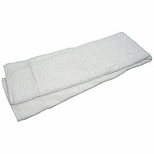 "50"" x 24"" 86% Cotton&#x3b; 14% Polyester Bath Towel, White&#x3b; PK12"