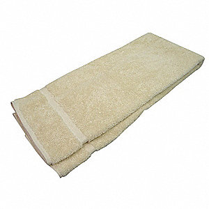 Bath Towel, 27x54 In, Beige,PK12
