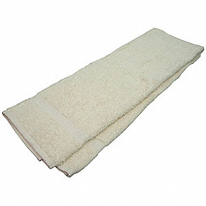 BATH TOWEL,24X50 IN.,BEIGE, PK 12