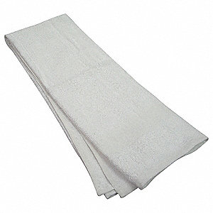 "48"" x 24"" 100% Cotton Bath Towel, White; PK12"