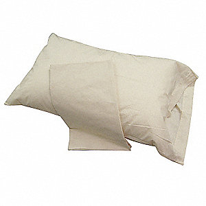 Standard T250 Thread Count Pillow Case, Bone&#x3b; PK12