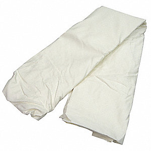 Bed Sheets, Full, 54x80 In., Pk 12