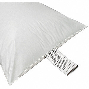 "25"" x 18"" Small Microvent Fiber Fill Pillow, White"
