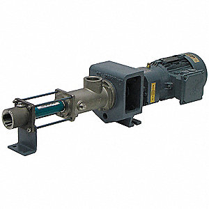 180 psi Progressive Cavity Metering Pump, 604 Max. RPM, 230/460VDC