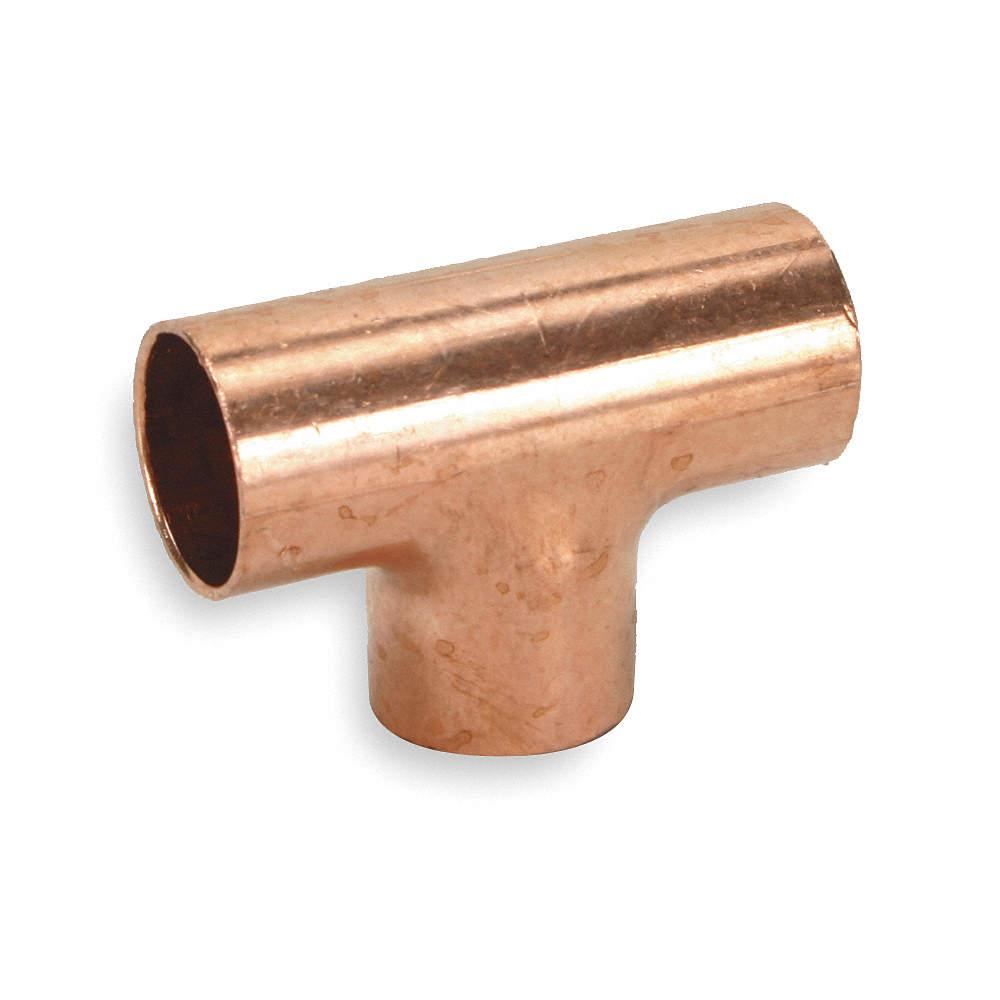 Tee, Wrot Copper, C x C, 1/4