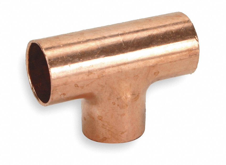 Nibco Tee Wrot Copper 1 2 In C X C X C 5p098 611 1 2 Grainger