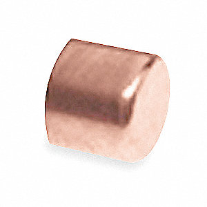 "Wrot Copper Cap, C Connection Type, 2"" Tube Size"