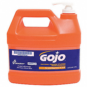 Citrus Liquid Hand Cleaner, 1 gal. Pump Bottle, None, 1 EA