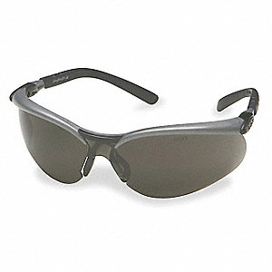 BX  Anti-Fog, Scratch-Resistant Safety Glasses, Gray Lens Color