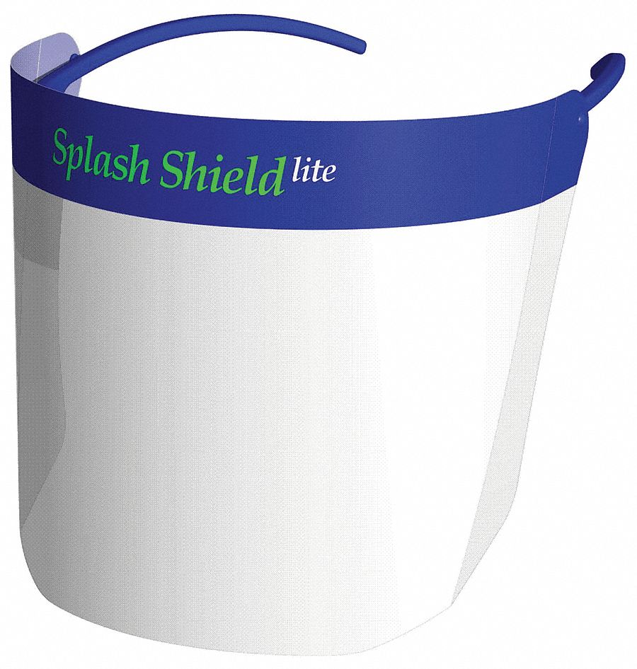 5 3/4 in Plastic Splash Shield Starter Kit