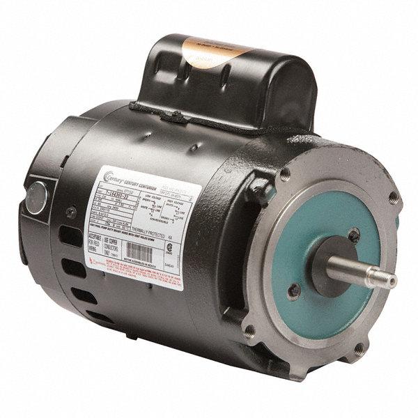 Century 1 1 2 hp pool and spa pump motor permanent split for Century pool and spa motor