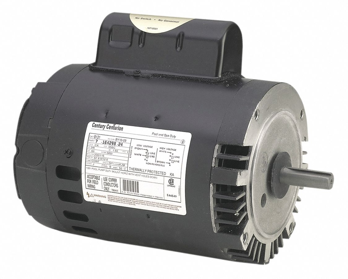 Capacitor usa for Century pool spa motor