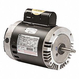 Century pool pump motor 2 hp 3450 rpm 115 230vac 5pb85 for 2 hp pool pump motor