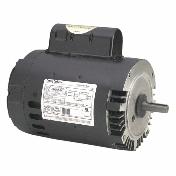 Century 1 1 2 hp pool and spa pump motor permanent split for 1 5 hp electric motor for pool pump