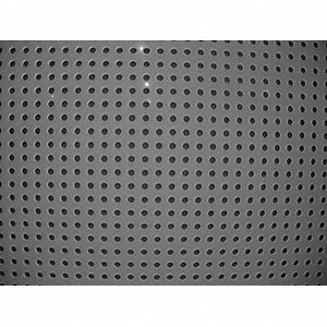 SHEET 32X48IN PERFORATED POLY