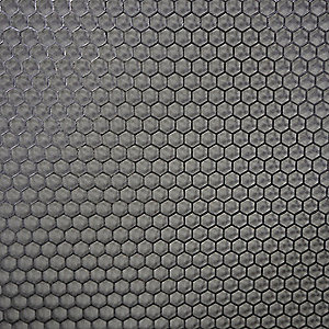 20 Gauge Perforated Sheet, Hex Hole Shape, Staggered Hole Pattern