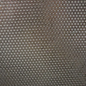 14 Gauge Perforated Sheet, Round Hole Shape, Staggered Hole Pattern