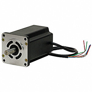 5 Phase,NEMA 34 / 85mm Frame Stepper Motor,Geared Motor Shaft Design,1.4 Amps Per Phase