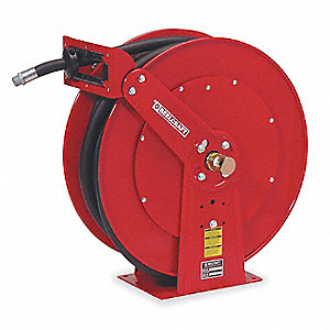 "3/4"", 50 ft. Spring Return Hose Reel, 50 psi Max. Pressure"
