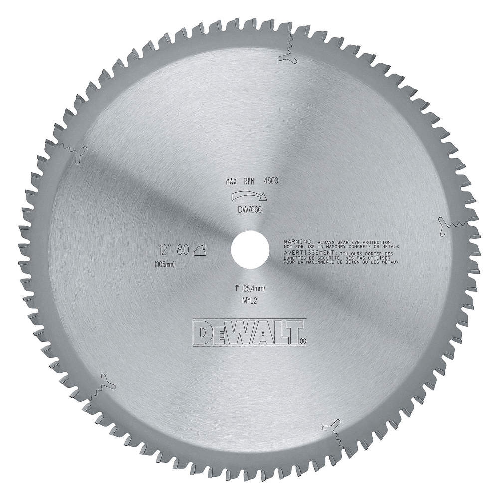 Dewalt circular saw bladesteel12 in80 teeth 5pgc7dw7666 grainger zoom outreset put photo at full zoom then double click greentooth Choice Image