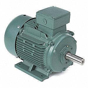 Leeson 15 hp premium efficiency metric motor 3 phase 1765 for 15 hp 3 phase motor