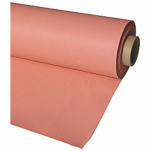 Silicone Coated Fiberglass Welding Curtain Roll, Height: 5 ft., Width: 150 ft., Pink