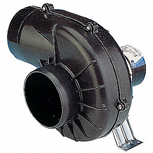 Round OEM Blower Without Flange, Voltage 12VDC, 2500 RPM, Wheel Dia. 3-1/4""