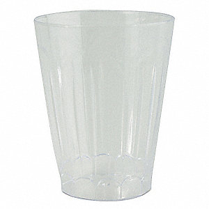 Disposable Tumbler,12 Oz,Clear,PK 240