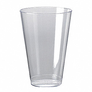 Disposable Tumbler,14 Oz,Clear,PK 500