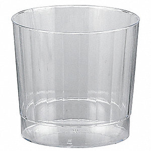 Disposable Tumbler,9 Oz,Clear,PK240